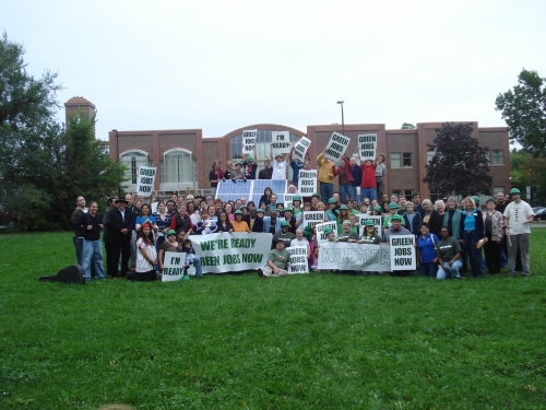 Greenjobsrally