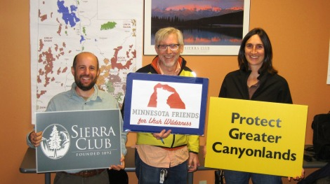 The Sierra Club is proud to announce that on Tuesday, February 4, 2014, Senator Franken became the  22nd  U.S. Senator to cosponsor America's Red Rock Wilderness Act - a bill that would permanently