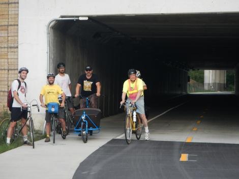 Bluff Street tunnel