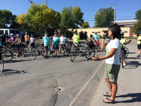Bri Whitecraft, Director of Marketing, Dero Bike Rack Co., talks about the importance of infrastructure such as parking and commuter programs to encourage biking.
