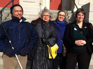 Citizen lobby team from Rochester
