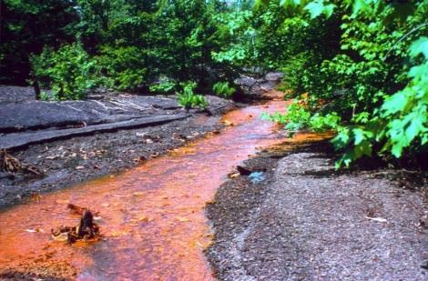 Acid Mine Drainage (AMD)  image - MPCA