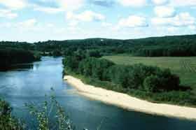 Waterway Buffer. Photo credit: USDA