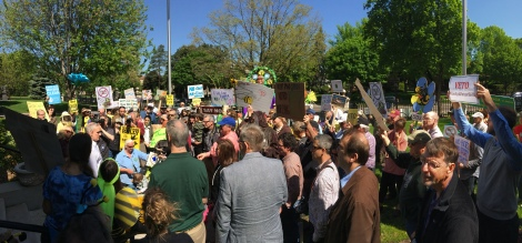 Gathering at Governor's Residence May 21 - Photo credit Joshua Houdek