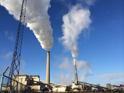 Sherco Coal Plant in Becker, MN - Minnesota's largest carbon polluter