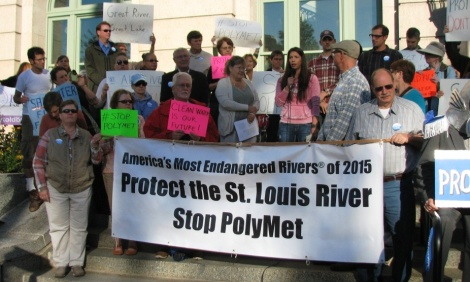 Protect the St. Louis River - Stop Polymet