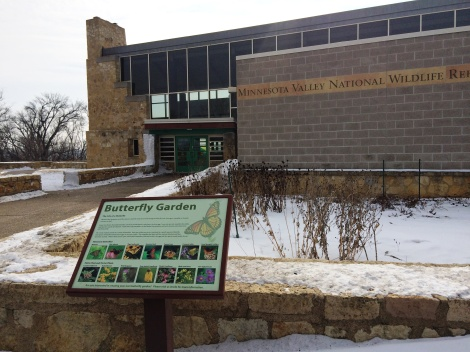 Minnesota Valley National Wildlife Refuge visitor center main entrance