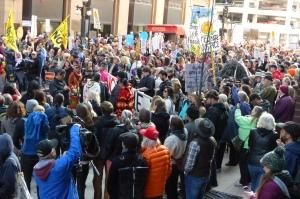 Dakota Access Pipeline Rally - St Paul, MN (credit: Scott Russell)