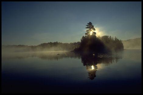 two-island-lake